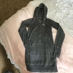Abercrombie & Fitch hooded dress sweater